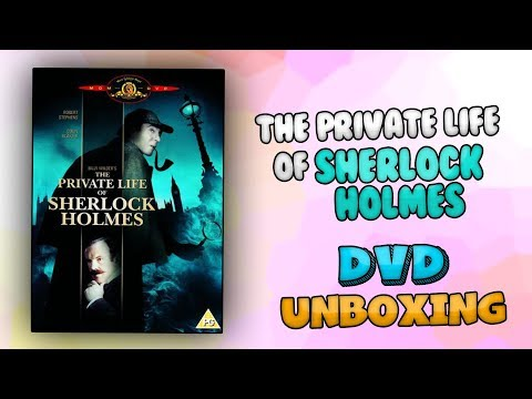 The Private Life of Sherlock Holmes DVD | UNBOXING