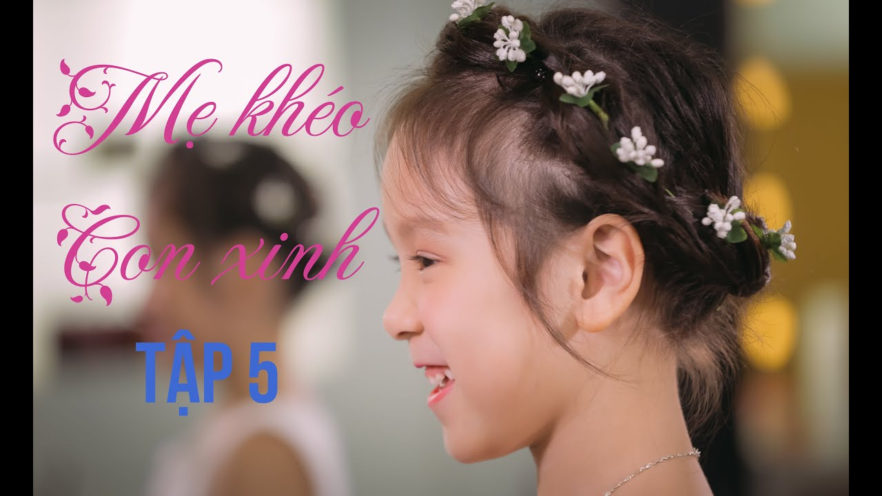 lovely hairstyle for girl: flower hairband for little girl | cute