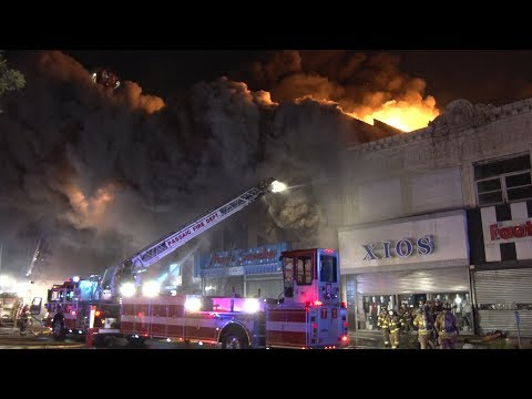 Passaic,NJ Fire Department Multiple Alarm Fire 7/23/17