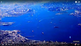 new york harbor on dallas new york lga flight statue of liberty ellis island one wtc 2016 03 30