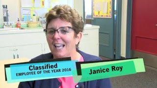 Janice Roy, 2016 San Diego Unfied School District Classified Employee of the Year