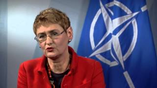 Q&A on EU-NATO Relations with NATO Spokesperson Lungescu