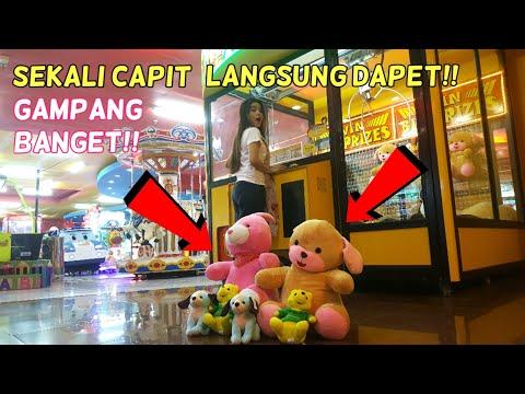 Gampang Banget!! Sekali Capit Langsung Dapet Boneka Besar THE BIG ONE!!