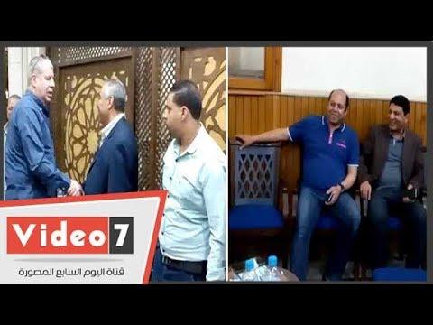 شوبير وخالد جلال والعتال ونجوم الرياضة فى عزاء شقيقة محمود أبو رجيلة  - نشر قبل 18 ساعة