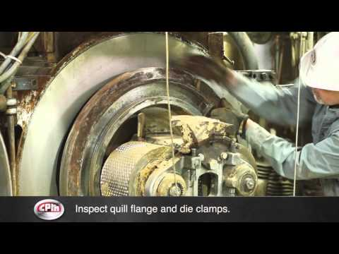 CPM Pellet Mill Die Change Procedure