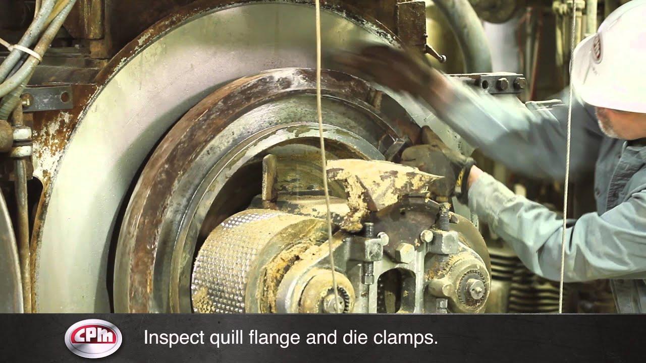 CPM Pellet Mill change procedure