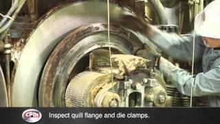 cpm pellet mill die change procedure