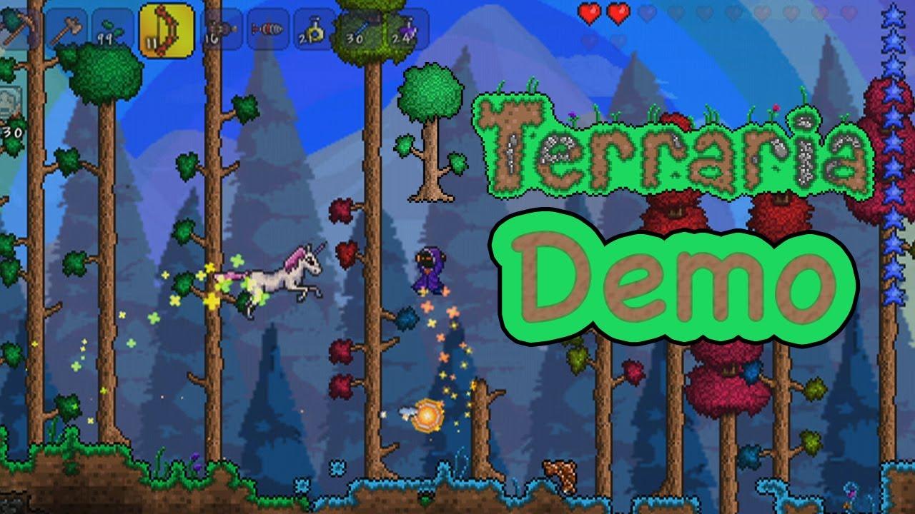 terraria demo