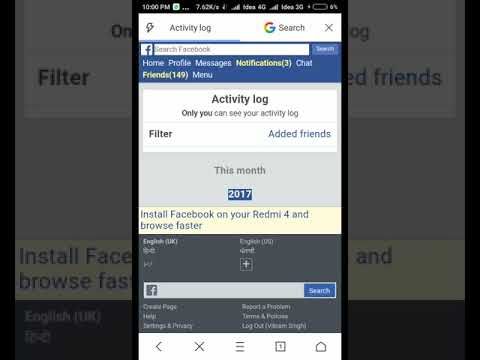 How do you clear friends list on facebook