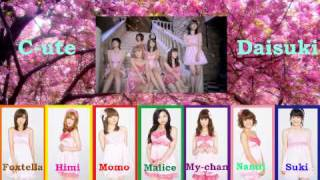 Hello Everyone!! This is C-ute Daisuki's third single release in Lo...