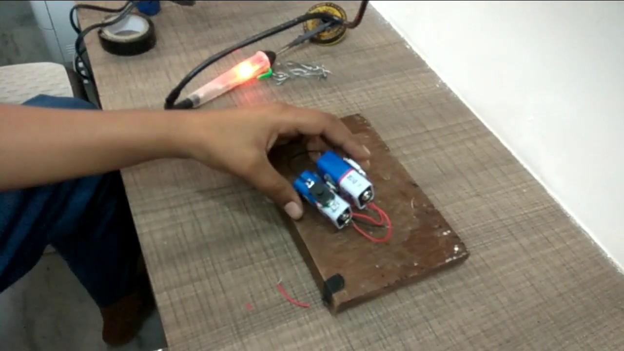 How To Make 12v High Power Led Flash Light With Ic 7812 Powersupply5v5aby7805mj2955fordigitalcircuit