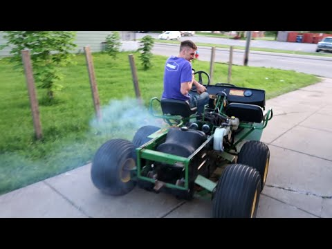 100HP Engine Swapped 5 Wheeler Test Drive