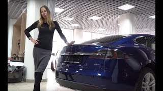 Tesla Model S 2018 // Лиса рулит