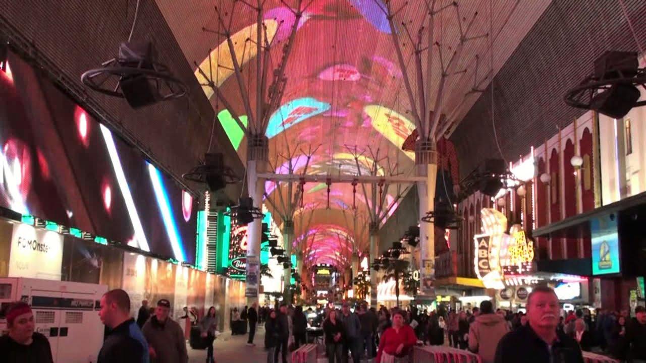 Viva Vision Light Show At Fremont Street Experience 2018