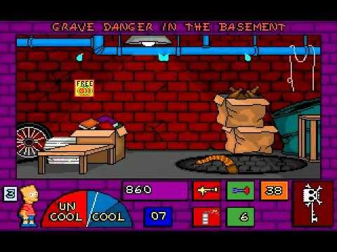 Bart Simpson S House Of Weirdness 03 Grave Danger In