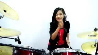 Video GOYANG DUMANG - cita citata - Drum Cover by Nur Amira Syahira download MP3, 3GP, MP4, WEBM, AVI, FLV Agustus 2017
