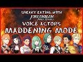 Sneaky Eating Challenge with the Voice Actors of Fire Emblem Three Houses | MADDENING MODE