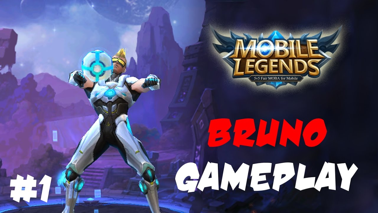 Mobile Legends: Bruno Gameplay! Christiano Ronaldo In ML