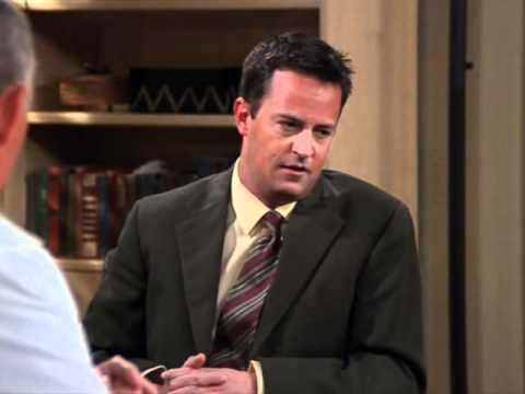 Friends - Chandler and Monica at gynecologist