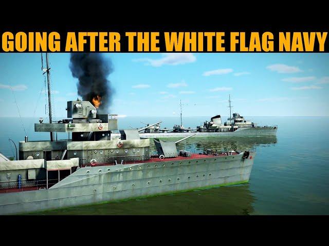 Little Britain Campaign: DAY 6 Attacking White Flag's Destroyer Flotilla | IL-2 Sturmovik