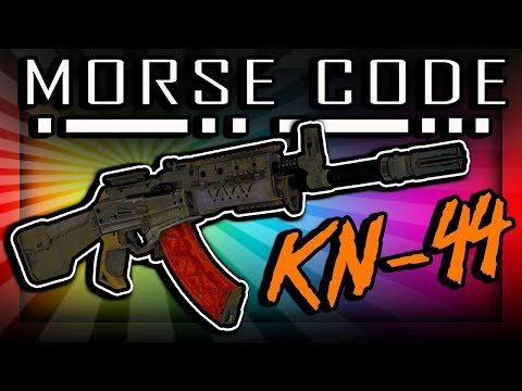 The KN-44 Flashes Morse Code (What It Says)