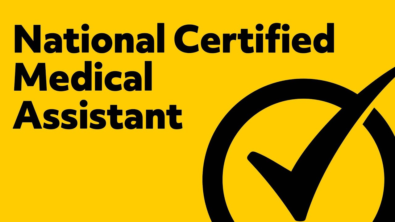 National Certified Medical Assistant Practice Test Youtube