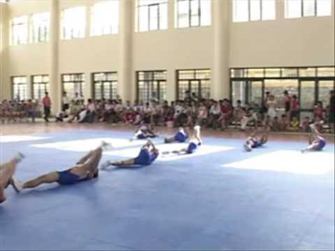 Bài thi đấu AEROBICS tự chọn đội Đà Nẵng
