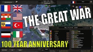 HOI4 100 Year Anniversary of WW1! The Great War Mod!