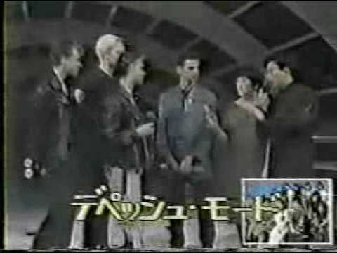 Depeche Mode A Question Of Lust Japanese TV 1986