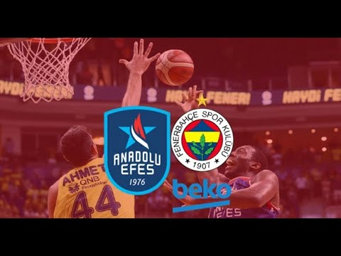 Anadolu Efes - Fenerbahçe Beko  Maç Kaydı   EuroLeague, RS Round 2