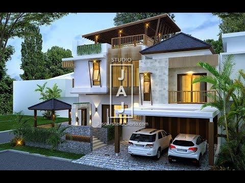 desain rumah dengan luas tanah 300m2 - berbagai rumah