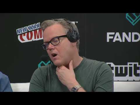 Batman: The Animated Series Anniversary • Alan Burnett • Bruce Timm • NYCC 2017 • interview