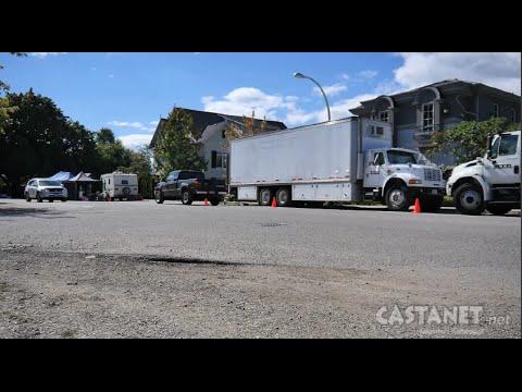 Film crew takes over Abbott Street in Kelowna