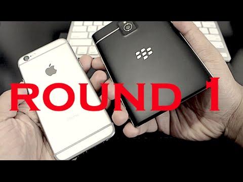 iPhone 6 vs BlackBerry Passport: Display,Build Quality & Processors PART 1