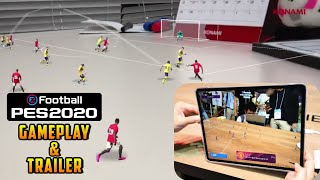 PES 2020 Mobile First Gameplay & TGS Trailer (Winning Eleven 20 with AR Tech.)