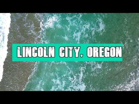 Oregon Coast Lincoln City, Oregon (Drone Footage)