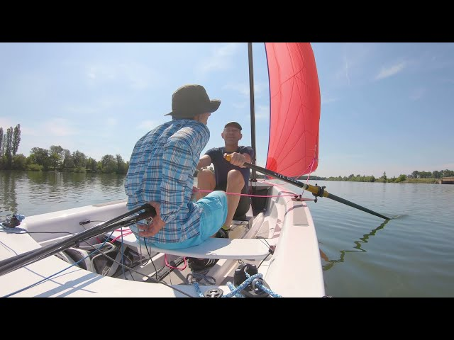 Lite XP 16 by Liteboat: A  row & sail micro-adventure in Bourgogne