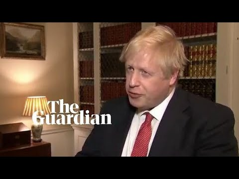 Boris Johnson to