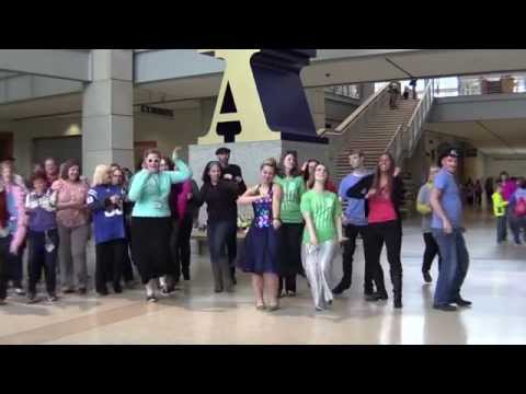 "Indiana State Museum Dance-off - ""Clap Your Hands"""