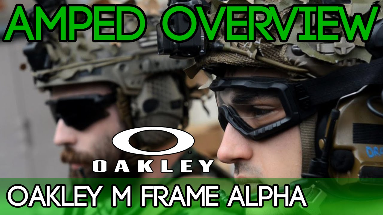 Oakley M Frame Alpha