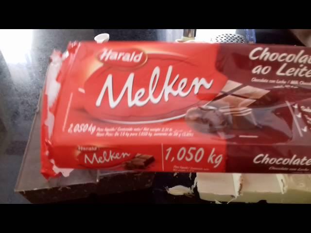 Como fazer ALIANÇAS DE CHOCOLATE NOBRE...How to make CHOCOLATE NOBLE LOBBY ...