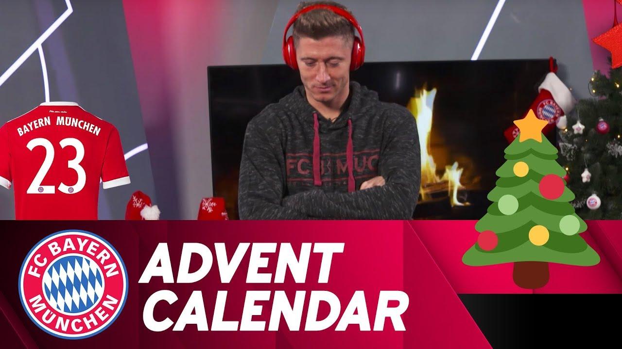 Fc Bayern Tannenbaum.Which Song Is It W Robert Lewandowski Fc Bayern Xmas Advent Calendar 23