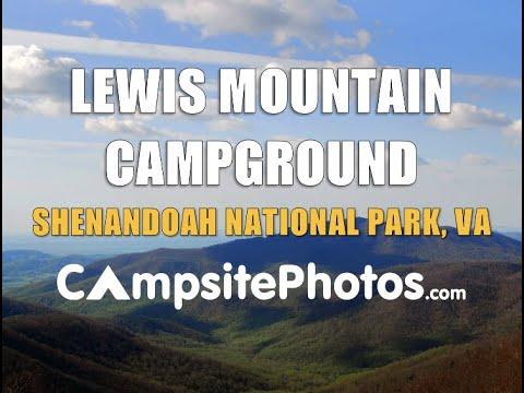 Lewis Mountain Campground Shenandoah National Park Virginia