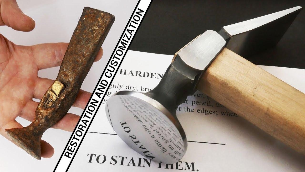 Old Shoe Hammer - Restoration and Customization