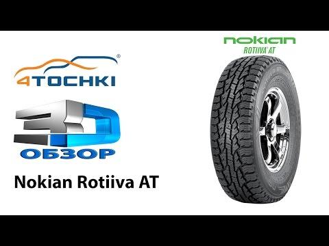 3D обзор шины Nokian Rotiiva AT