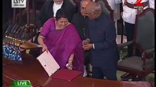 Watch: Ram Nath Kovind sworn in as India's 14th President
