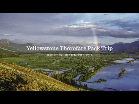 YELLOWSTONE THOROFARE PACK TRIP 2019