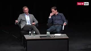 Wie tickt Lindner? Christian Lindner auf dem taz lab 2018