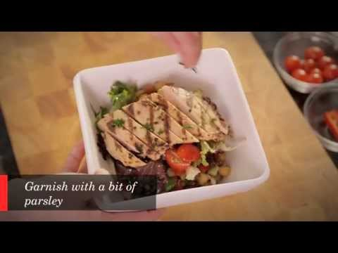 Grilled Chicken and Lentil Salad Recipe Cuisine Solutions