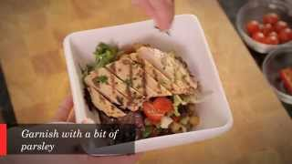 Grilled Chicken And Lentil Salad Recipe - Cuisine Solutions